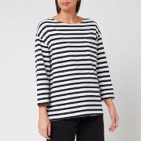Superdry Women's Edit Cruise Top - Mono Stripe - UK 8