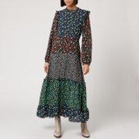 RIXO Women's Billie Dress - Mixed Ditsy Floral - XS
