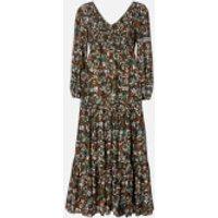 RIXO Women's Brooke Dress - Klimt Wave Stripe - XS