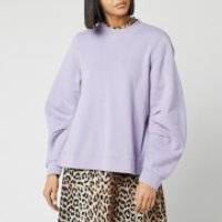 Ganni Women's Isoli Sweatshirt - Violet Tulip - L