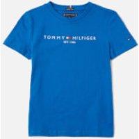 Tommy Kids Boys Essential T-Shirt - Lapis Lazuli - 6 Years