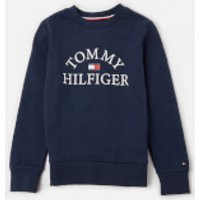 Tommy Kids Boys' Essential Arch Logo Sweatshirt - Twilight Navy - 12 Years