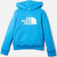 The North Face Boys' Drew Peak Hoody - Clear Lake Blue/TNF White - S