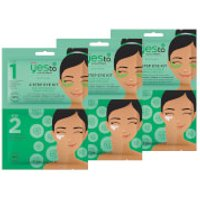 yes to Cucumbers 2-Step Eye Kit: Buh-Bye Bags and Dark Circles! (Pack of 3)