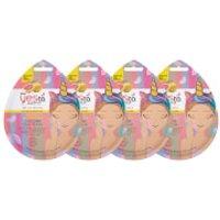 yes to Grapefruit Vitamin C Glow-Boosting Unicorn Mud Single Use Mask (Pack of 4)
