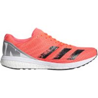 adidas Men's Adizero Boston 8 Running Shoes - Signal Coral - US 12/UK 11.5
