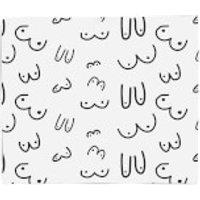 Boobs Fleece Blanket - Blanket Gifts