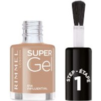 Rimmel Super Gel Nail Polish 12ml (Various Shades) - Influential