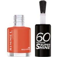 Rimmel 60 Seconds Super Shine Nail Polish 8ml (Various Shades) - 410 Wild Spice
