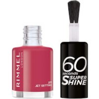 Esmalte de uñas 60 Seconds Super Shine de Rimmel 8 ml (varios tonos) - 271 Jet Setting