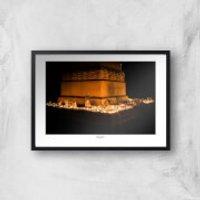 Memorial Square, Crewe Giclee Art Print - A3 - Black Frame
