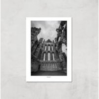 Whitby Abby Giclee Art Print - A2 - Print Only