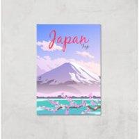 Visit... Japan Giclée Art Print - A4 - Print Only - Japan Gifts