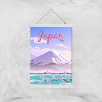 Visit... Japan Giclée Art Print - A3 - White Hanger - Japan Gifts