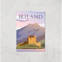 Visit... Ireland Giclée Art Print - A4 - Print Only - Ireland Gifts