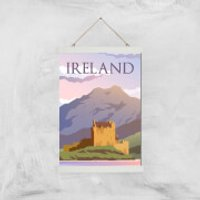 Visit... Ireland Giclée Art Print - A3 - White Hanger - Ireland Gifts