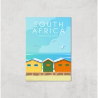 Visit... South Africa Giclée Art Print - A4 - Print Only - Africa Gifts