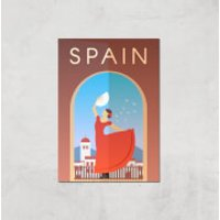 Visit... Spain Giclée Art Print - A3 - Print Only - Spain Gifts