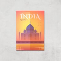 Visit... India Giclée Art Print - A2 - Print Only - India Gifts