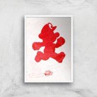 Nintendo Lets A Go Go Art Print - A4 - White Frame - Nintendo Gifts