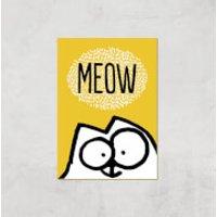 Simons Cat Giclée Art Print - A4 - Print Only - Cat Gifts