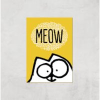 Simons Cat Giclée Art Print - A3 - Print Only - Cat Gifts