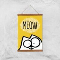 Simons Cat Giclée Art Print - A3 - Wooden Hanger - Cat Gifts
