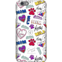 Simons Cat Bold Phrase Phone Case for iPhone and Android - iPhone 5C - Snap Case - Gloss