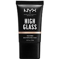 NYX Professional Makeup High Glass Face Primer (Various Shades) - Moonbeam