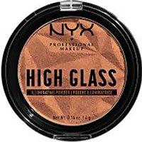 NYX Professional Makeup High Glass Illuminating Powder (Various Shades) - Golden Hour