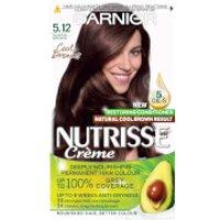 Garnier Nutrisse Permanent Hair Dye (Various Shades) - 5.12 Glacial Brown