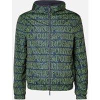 Emporio Armani Men's Hood Detail Jacket - Navy - S