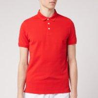 Emporio Armani Men's Basic Polo Shirt - Red - XXL
