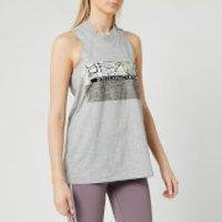 adidas by Stella McCartney Women's Graphic Tank Top - Mid Grey/White - S
