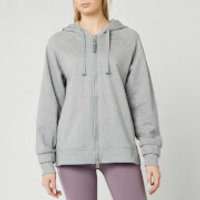 adidas by Stella McCartney Women's Essential Hoodie - Mid Grey - S