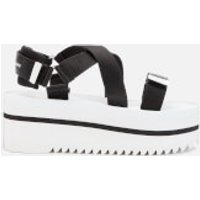 Tommy Jeans Women's Pop Color Flatform Sandals - Black/White - EU 41/UK 7