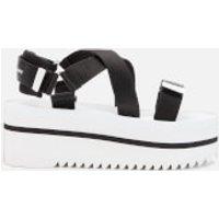 Tommy Jeans Women's Pop Color Flatform Sandals - Black/White - EU 39/UK 6