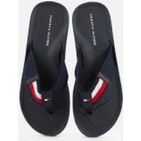 Tommy Hilfiger Men's Sporty Corporate Beach Sandal - Desert Sky - EU 45/UK 10.5
