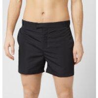 Frescobol Carioca Men's Tailored Short Block Swim Shorts - Black - XL