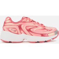 FILA Women's Creator Liquid Luster Trainers - Ballet Dancer/Raspberry Soda/White - UK 4