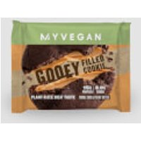 Vegan Gooey Filled Cookie (Sample) - 75g - Double Chocolate and Peanut Butter