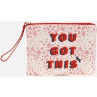 Radley Women's Motivational Small Ziptop Wristlet - Pink