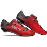 Sidi Sixty Road Shoes - Black/Red - EU 43