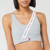 Tommy Sport Women's Low Support Tape Sports Bra - Grey Heather - L