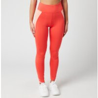 Tommy Sport Women's High Waisted Training Leggings - Bright Vermillion - S