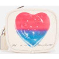 shop for Coach 1941 Women's Coach X Richard Bernstein Heart Zip Pouch - Chalk Multi at Shopo