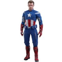 Hot Toys Marvel Avengers: Endgame Movie Masterpiece Action Figure 1/6 Captain America (2012 Version) 30 cm
