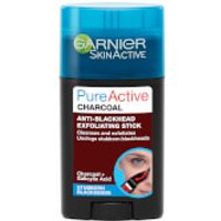 Garnier Pure Active Charcoal Anti-Blackhead Exfoliating Stick 50ml