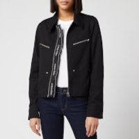 Calvin Klein Women's Western Jacket Update - Black - UK 10/EU 40