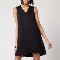 Calvin Klein Women's V-Neck Flared Dress - Black -  UK 8/EU 38